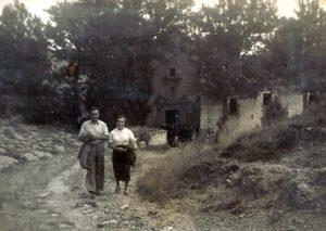 Final de la provessó. 29 agost 1955