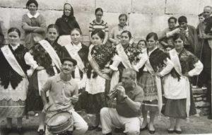 Els dolçainers del Grau: Illescas i Xamberga. 29 agost 1970