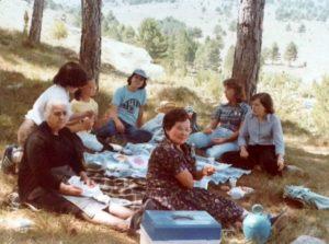 Neveres i mantes de matxo. 29 agost 1977