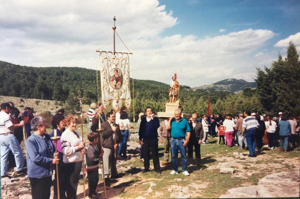 Arribada de Sant Joan de la provessó. Maig 1998